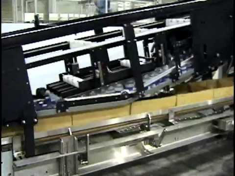 Continuous Motion Case Packing Machine
