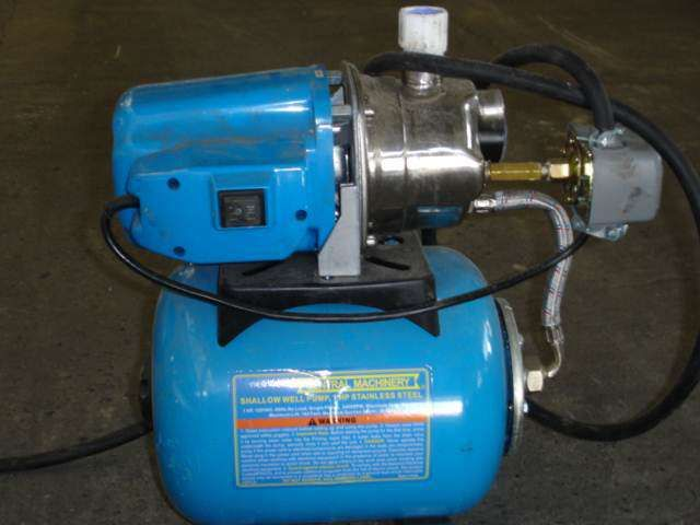 Central Machinery Postivive Displacement Pump
