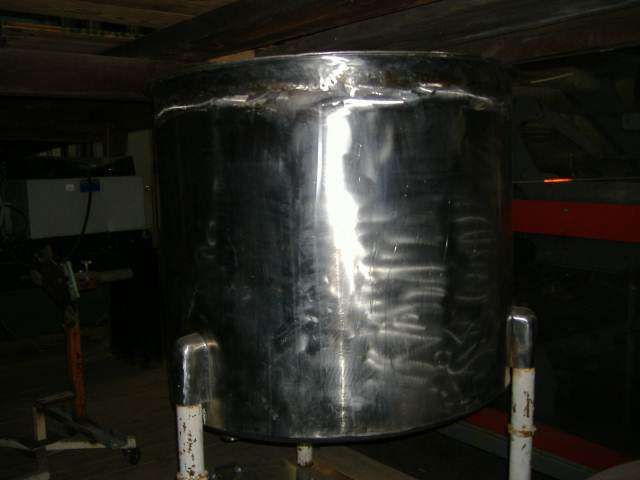 75 Gallon Stainless Steel Jacketed Tank