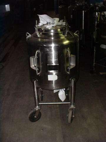 Letsch 70 Gallon Stainless Phramaceutical Grade Tank