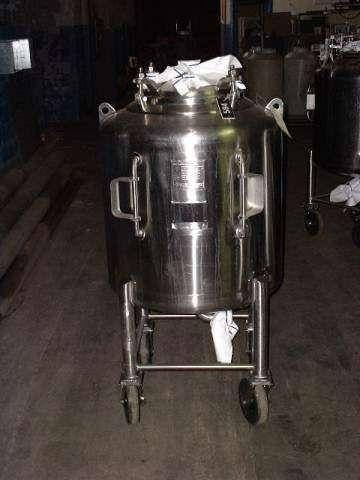 Letsch 100 Gallon Stainless Phramaceutical Grade Tank