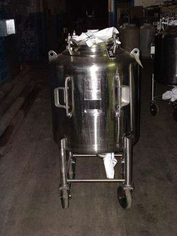 Letsch 100 Gallon Stainless Phramacutical Grade Tank