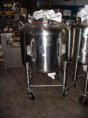 Letsch 125 Gallon Stainless Phramacutical Grade Tank