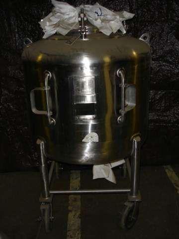 Letsch 125 Gallon Stainless Phramacutical Grade Tank