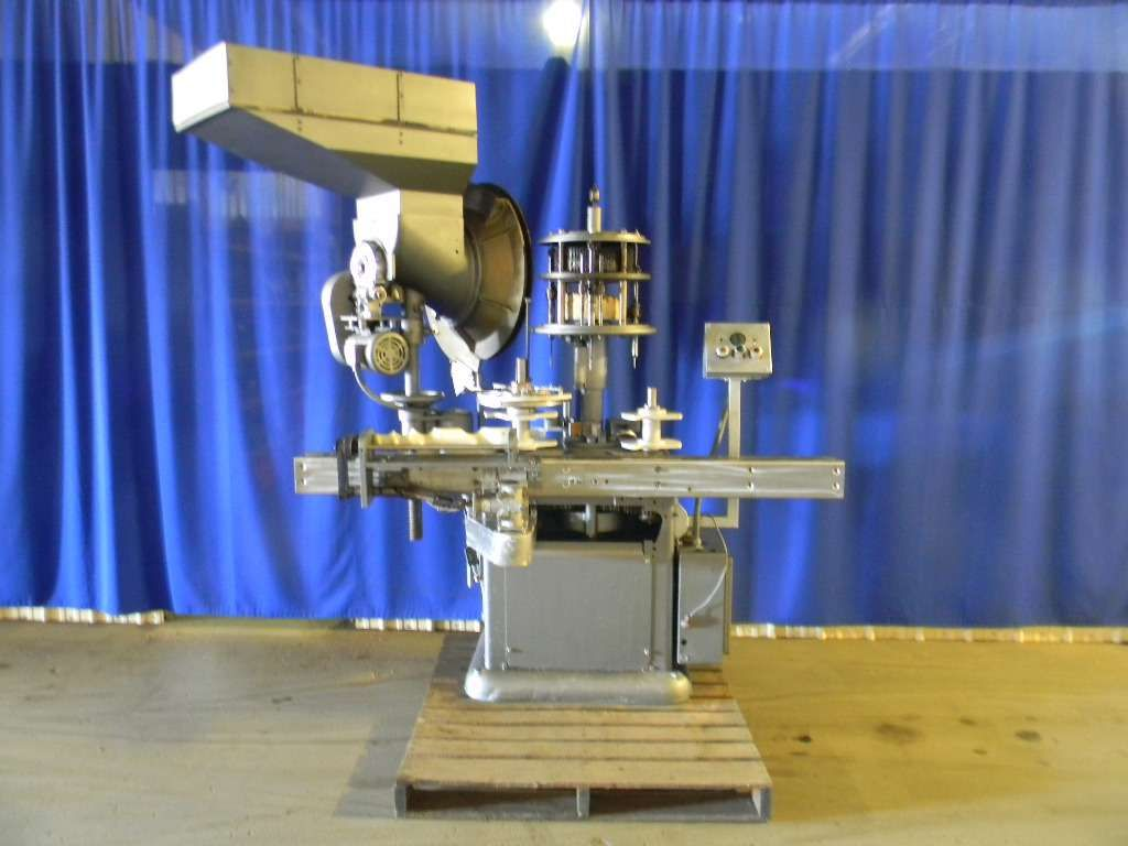 Consolidated C4FA Rotary Screw Capper