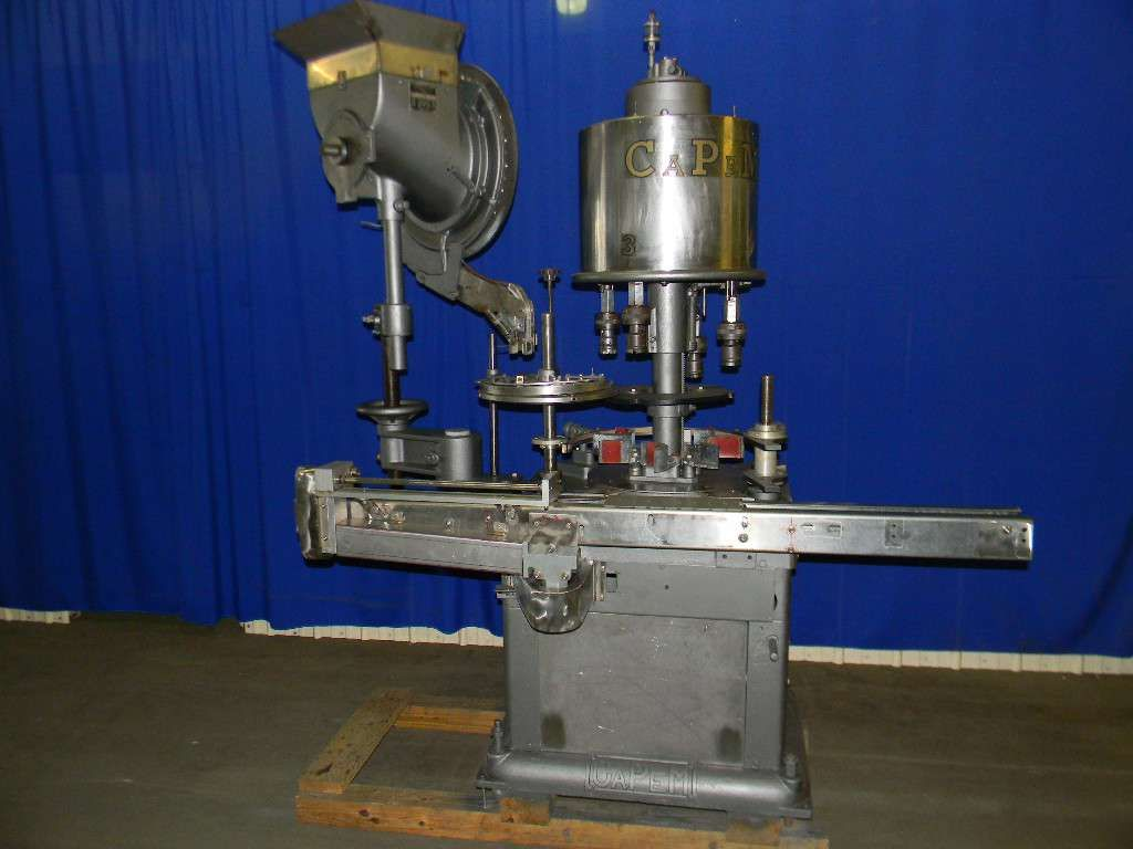 Consolidated D4FA 4 Head Rotary Screw Capper
