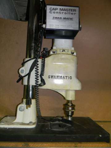 Swanmatic Semi Automatic Tabletop Capper