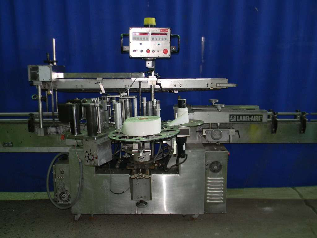 Labelaire Automatic Fronta and Back Pressure Sensitive Labeler