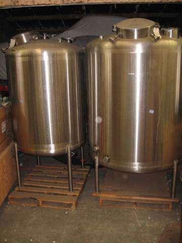 SaniMatic 500 Gallon Stainless Steel Tank