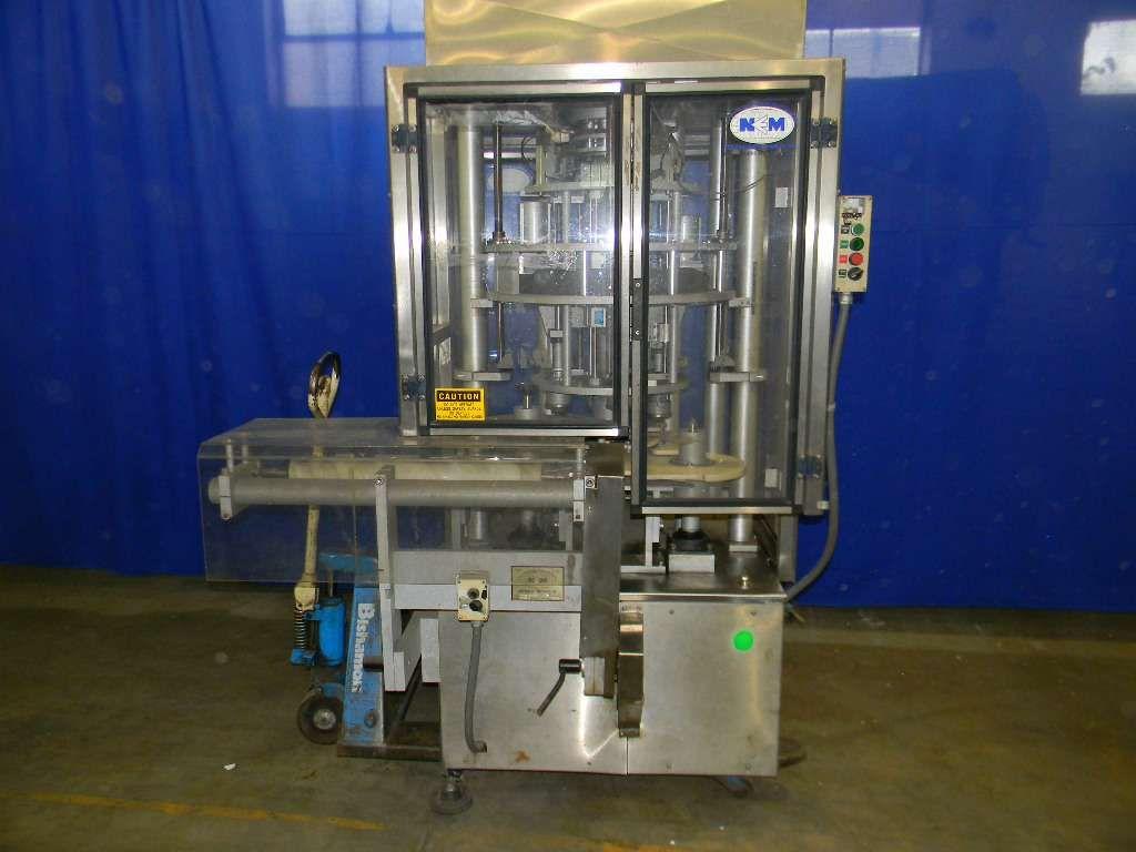New England Machine Rotary Screw Capper