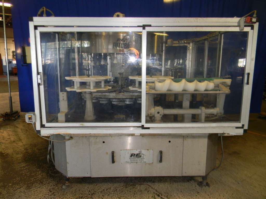 PE Rotary Hot Melt Cut and Stack Labeler