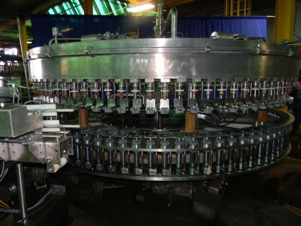 KHS Compacta 90-20 Monoblock Filler Screw Capper