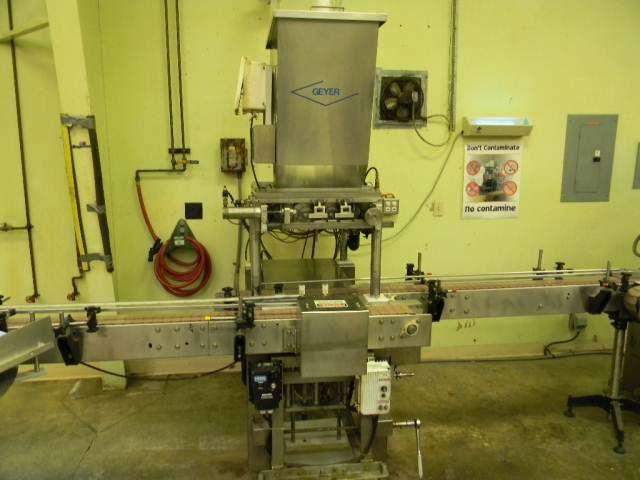 Geyer Fillmaster 5000 twin piston filler