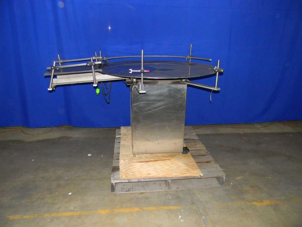 Rotary Accumulation or Feed Table