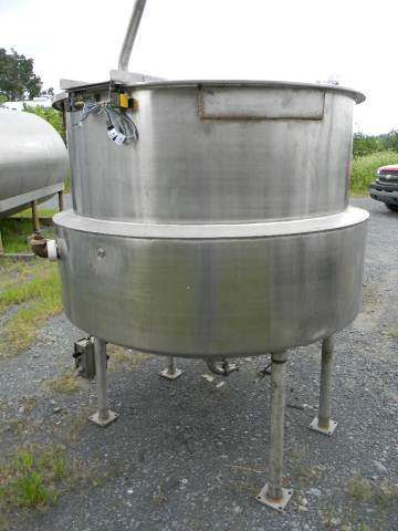 Hubbert Stainless Steel Jacketed Kettle 300 Gallon