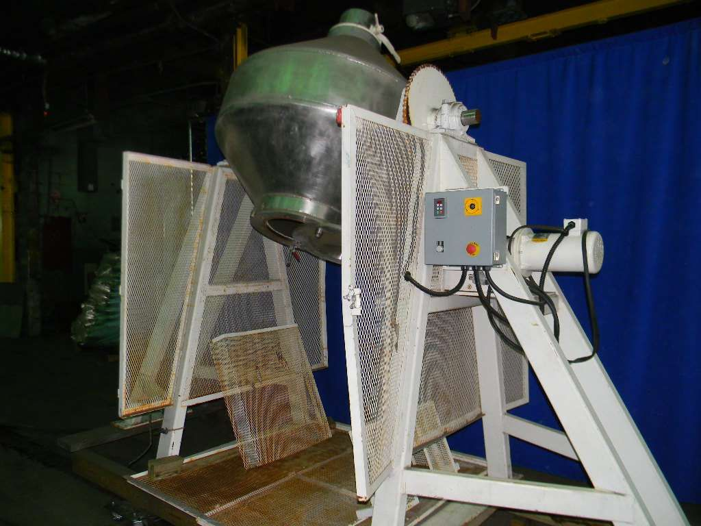 Stainless Steel Twin Cone Mixe