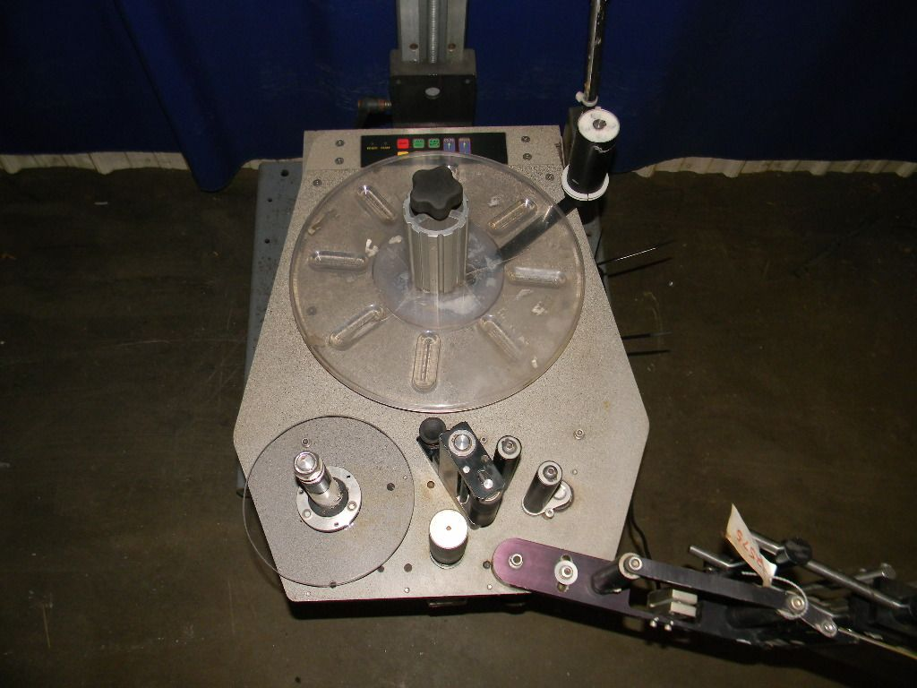 Hoppmann Panel Labeler on a St