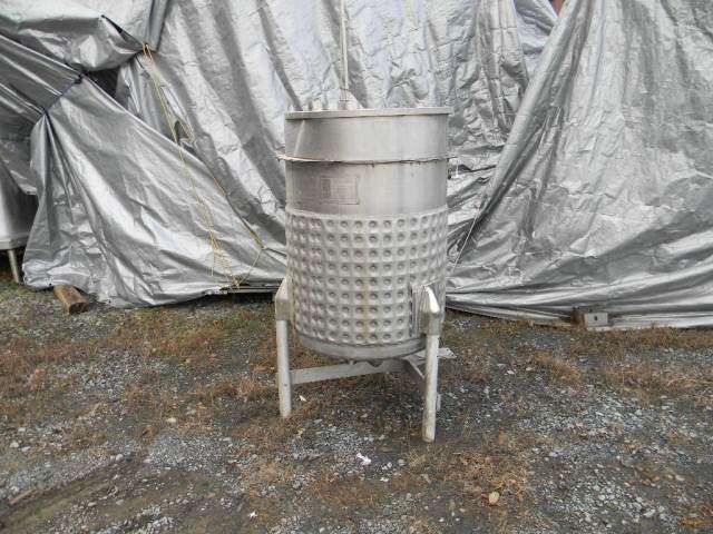 Jacketed Stainless Steel Kettle 100 Gallon