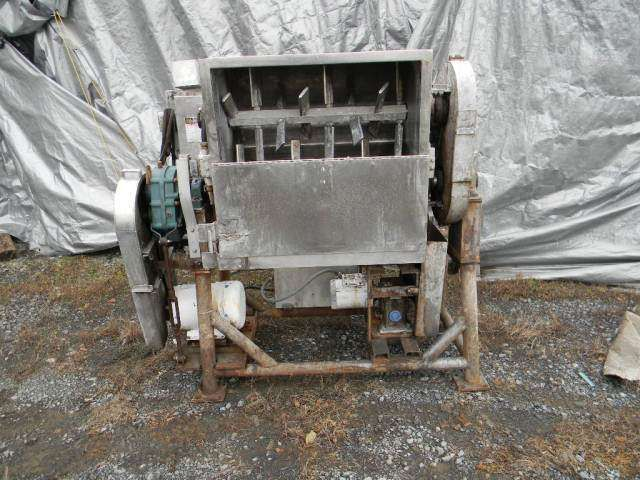 Stainless Steel Twin Paddle Blender Mixer