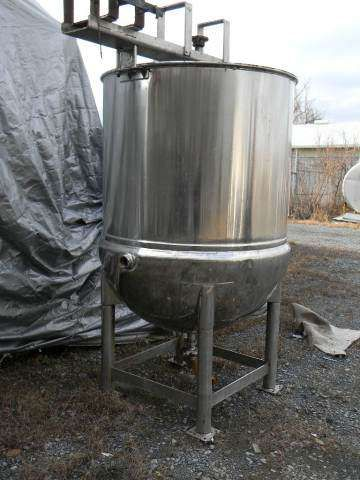 Stainless Steel Jacketed Kettle 400 Gallon