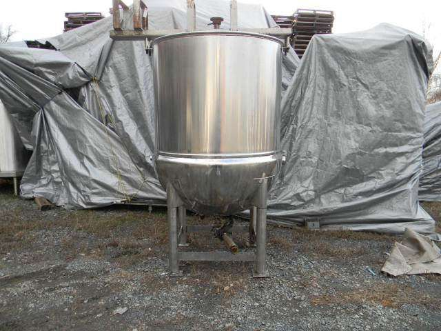 Stainless Steel Jacketed Agitated  Kettle 400 Gallon