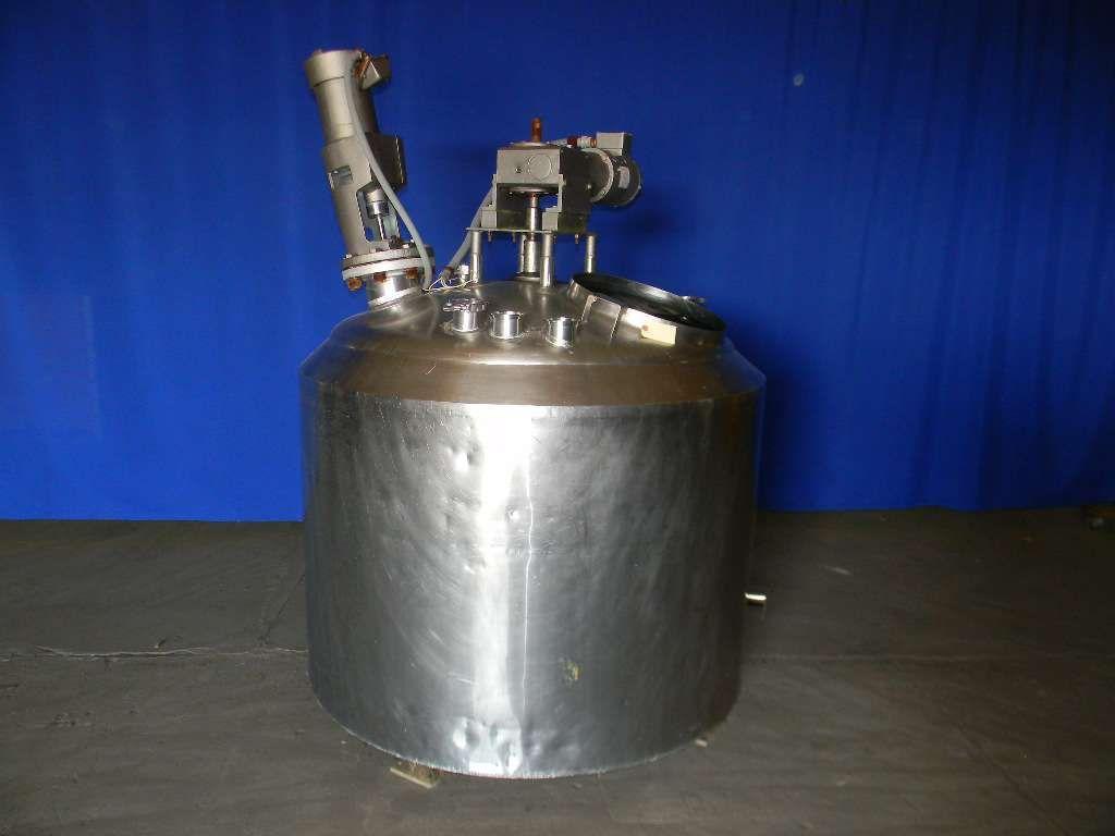 Cherry Burrell Vertical Stainless Steel Insulated Tank 200 Gallon