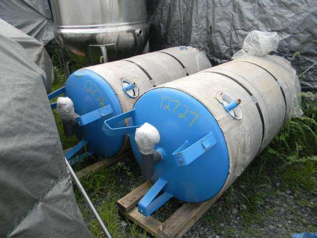 Horizontal Epoxy Lined Resin Tank
