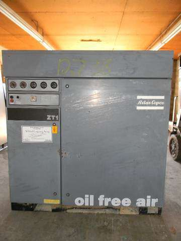 Oilless Oil Free Rotary Air Compressor - Air Dryer