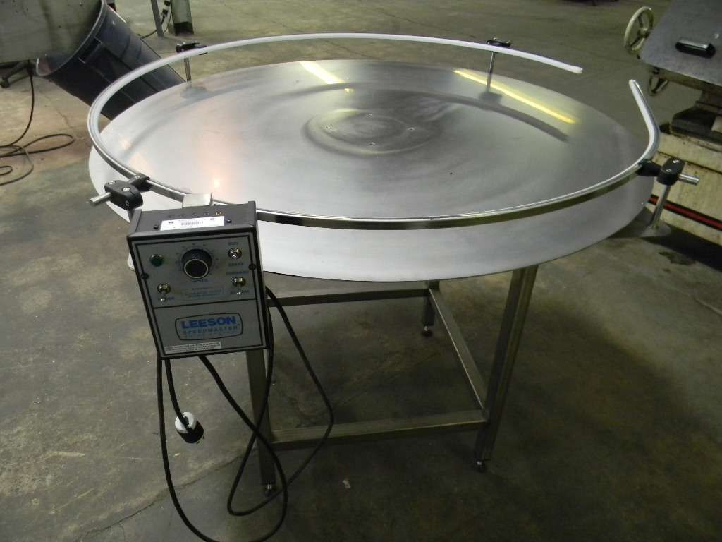 Rotary Accumulation or Feed Table - NEW