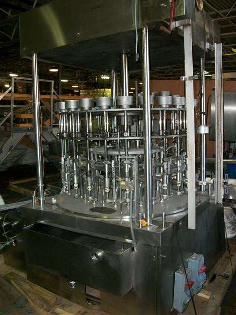 MRM 24 Head Rotary Pressure Overflow Filler