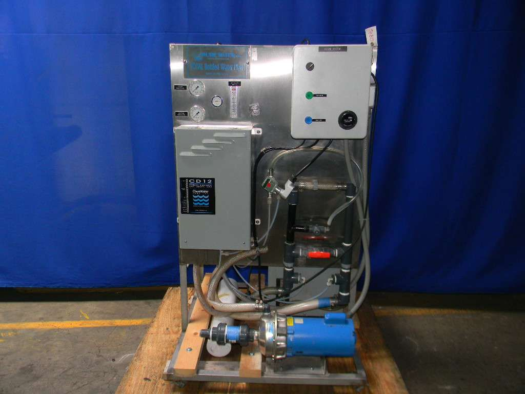 Purewater Ozone Water Purifier  Skid consists of: