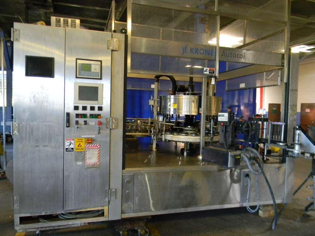 Krones 20 head Rotary Pressure Sensitive Labeler
