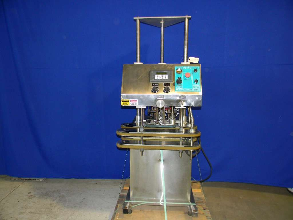 Inline Filling Systems Computorque Inline Screw Capper  NEW - Never Used