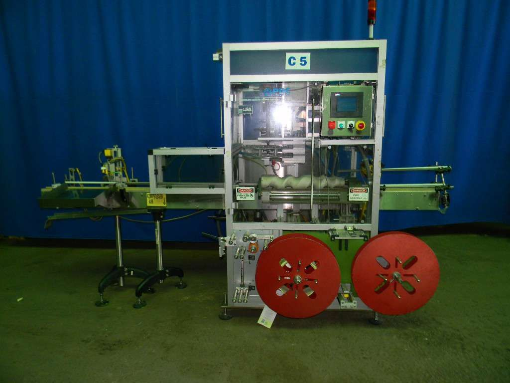 PDC 50-ERL Sleeve Labeler and Neck Bander