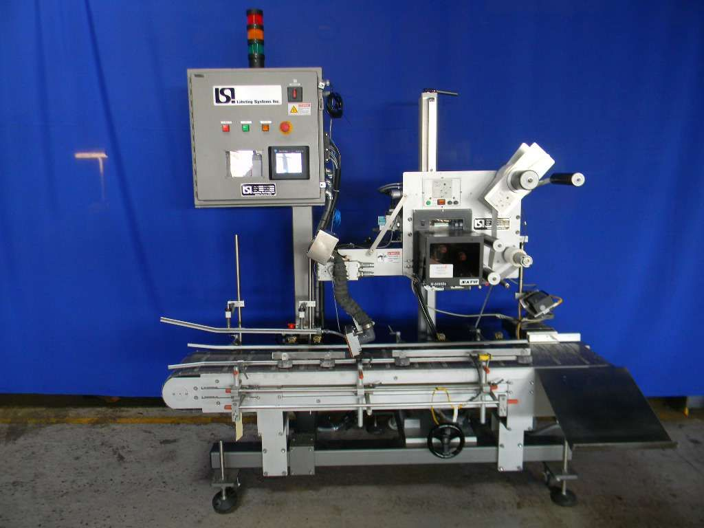 LSI Inline Print and Apply Front or Front and Top Pressure Sensitive Labeler