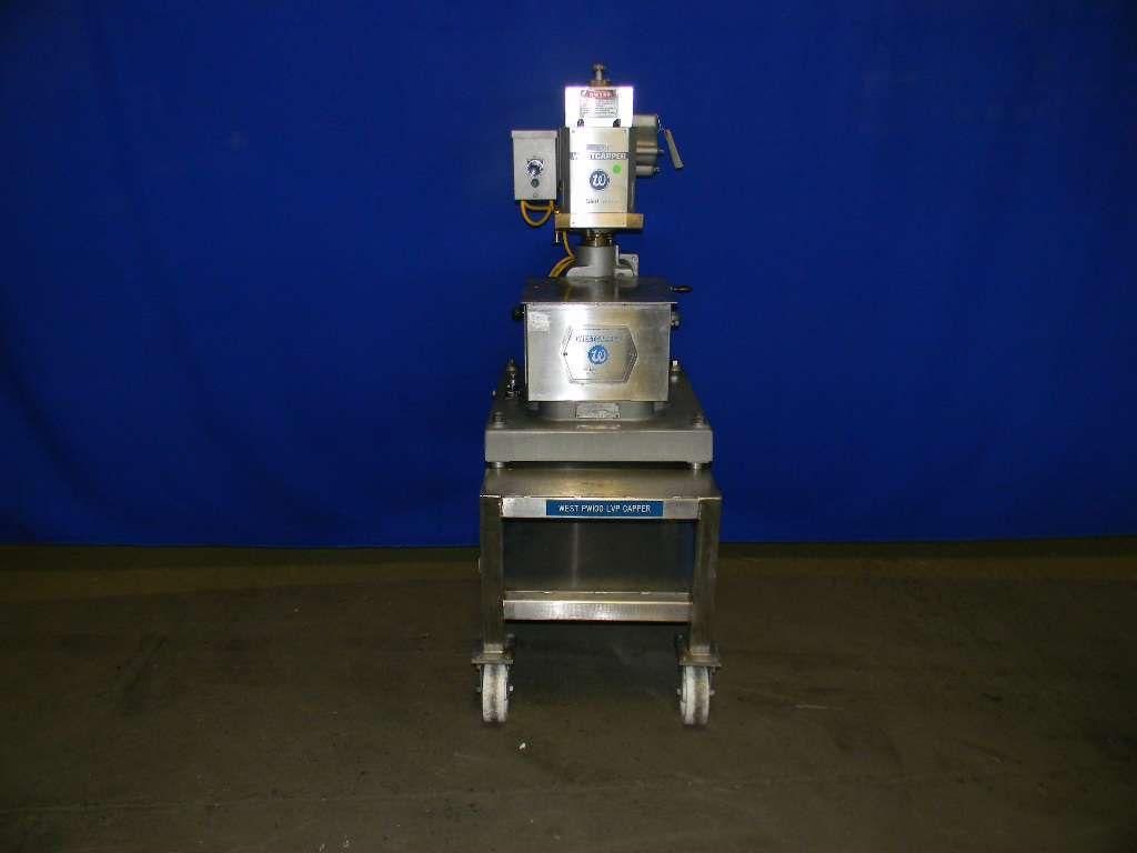 West Machine Pharmaceutical Grade Capping Machine