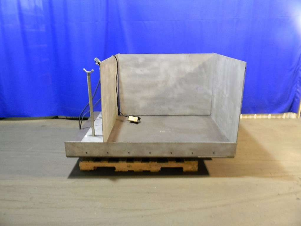 Stainless Steel Pallet or Bulk Product Lift Table