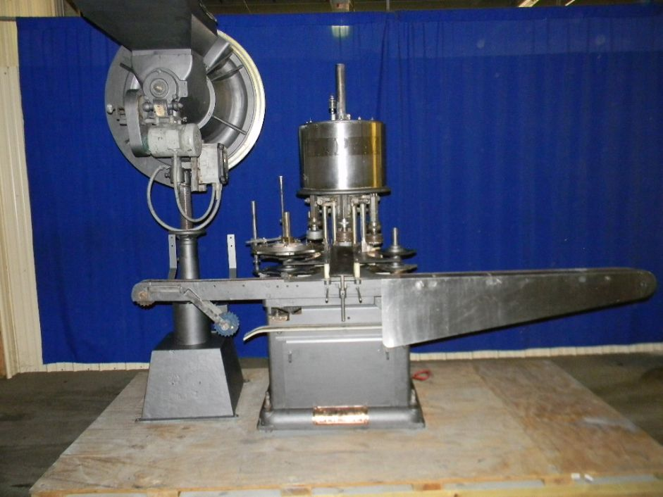 Consolidated D6F 6 Head Rotary Screw Capper