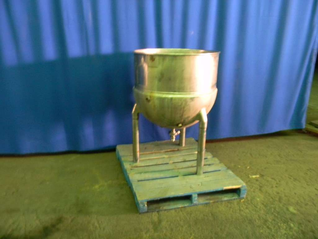 Stainless Steel Jacketed Kettle 90 Gallon
