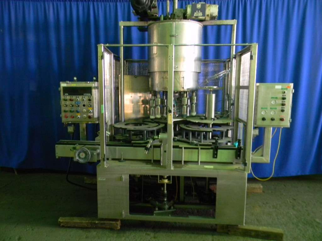 US Bottlers 10 Head Rotary Screw Capper