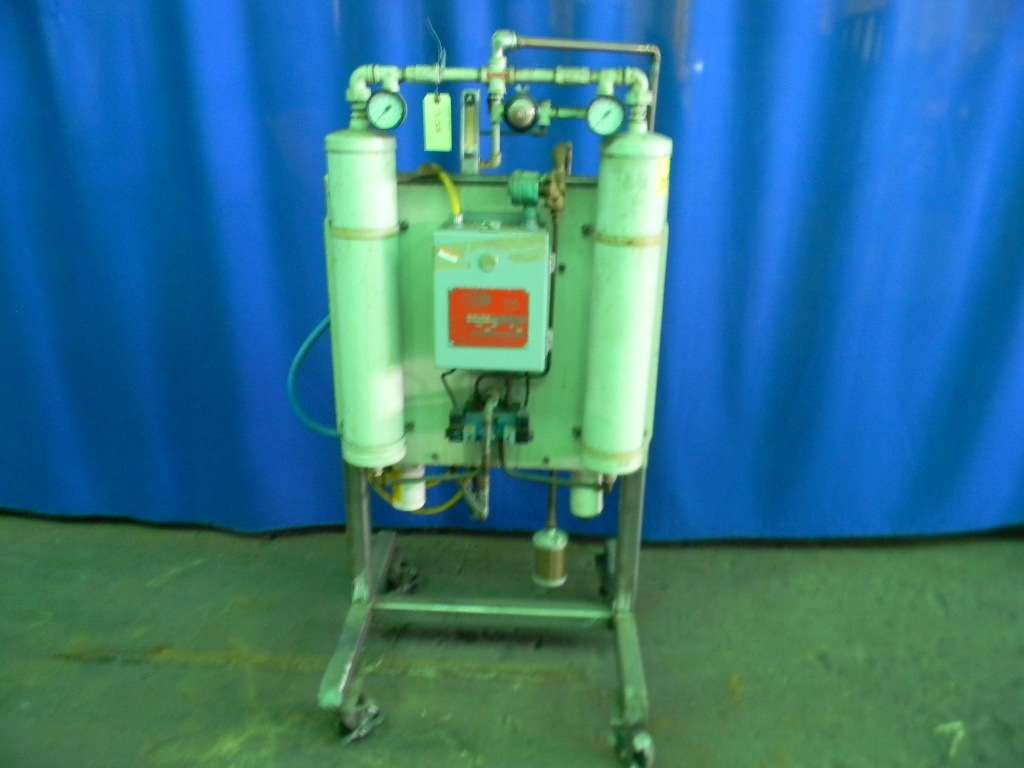Heatless and Dessicant Air Dryer