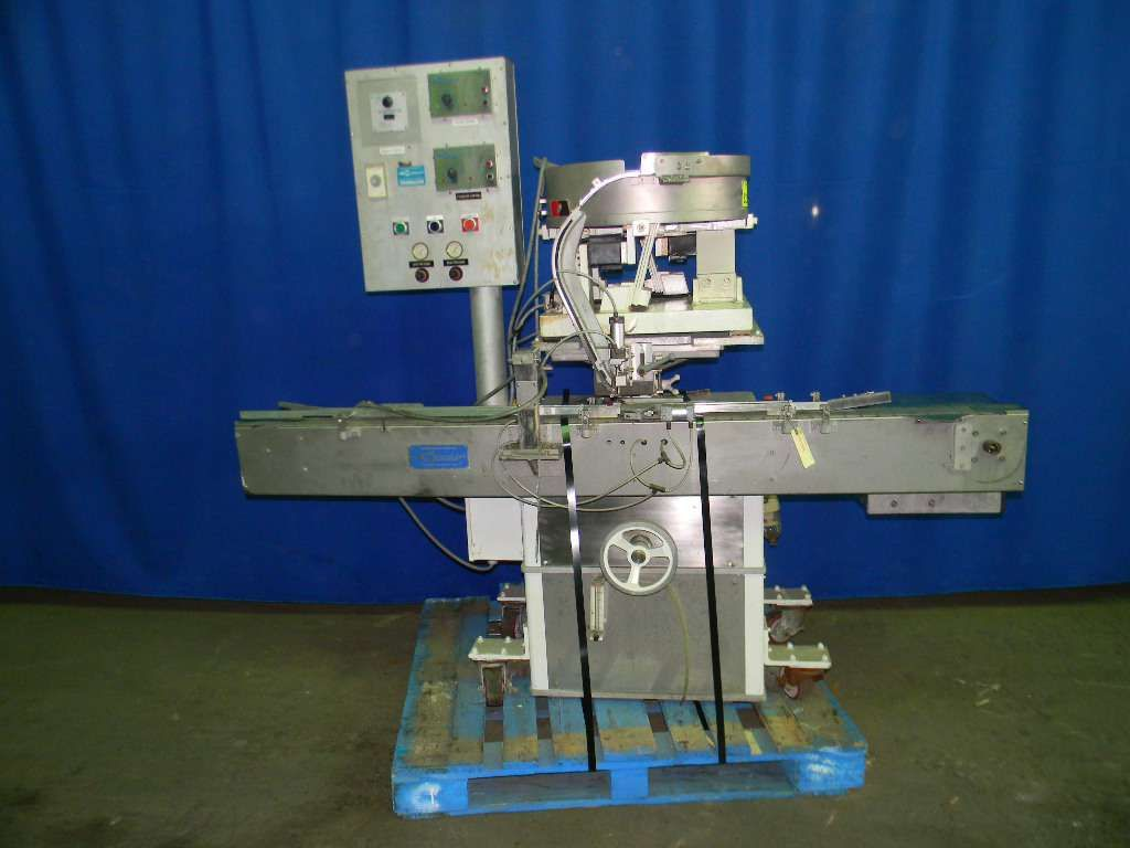 Cozzoli PS 130 Automatic Plugger or Fitment Inserter