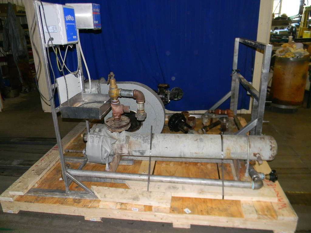 Heat Exchanger for Packaging Systems Warming Tunnel  For use with item 13241