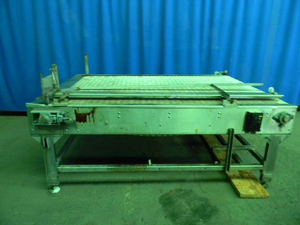 SECO Stainless Steel Bi Driectional Accumulation Table