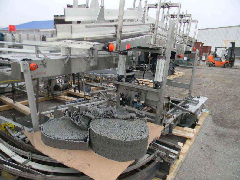 Laned Mass Flow Conveyor