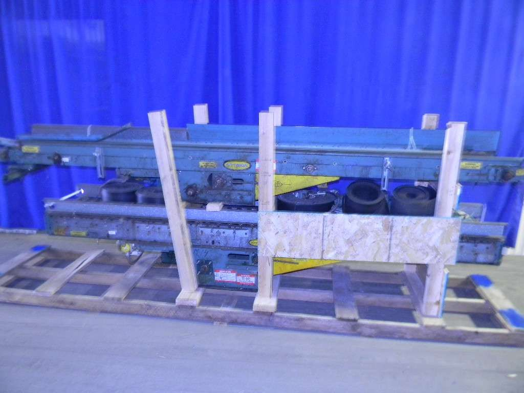 Belt over Roller Case Conveyor Drive Sections