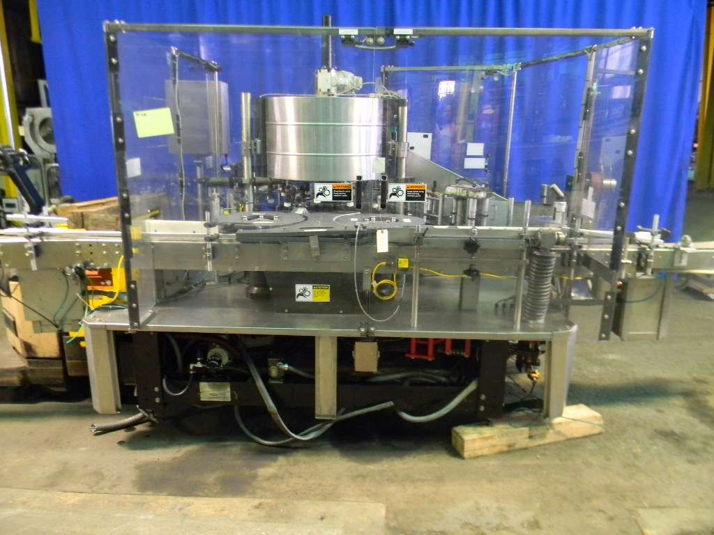 Krones 12 Head Rotary Pressure Sensitive Labeler