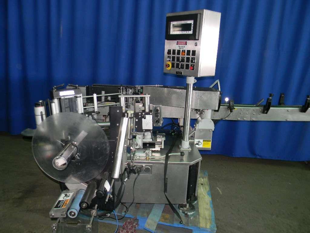 Krones Autocol Inline Wrap Pressure Sensitive Labeler
