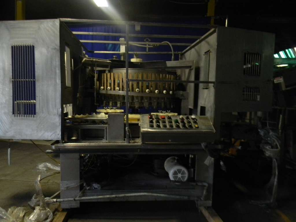 MRM 30 Head Rotary Piston Filler