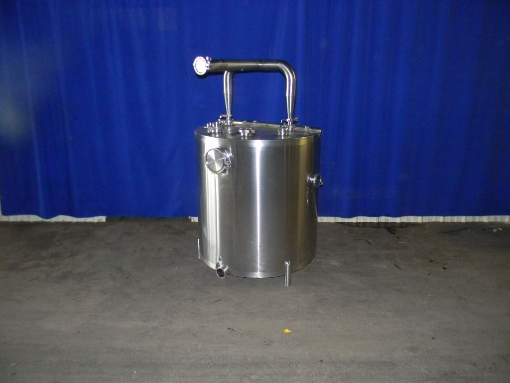 200 Gallon Single Wall Stainless Steel Tank